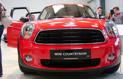 Red Mini Countryman