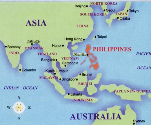 mapa filipinas asia Lo importante es participar y divertirse: La colonización de Filipinas mapa filipinas asia