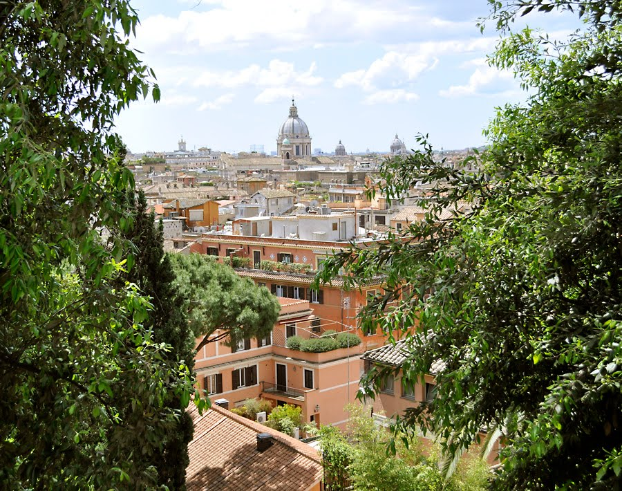 Tomatoes From Canada: Villa Borghese, Rome