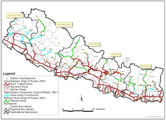 Road Network of Nepal