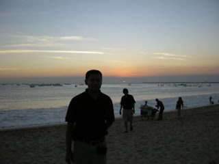 Sunset Jimbaran Beach Bali