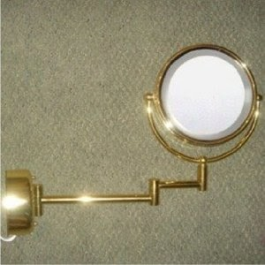 Lighted Makeup Mirror Wall Lighted Fluorescent Wall Mount