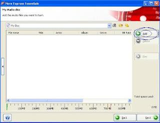 adding file to mp3 cd burner