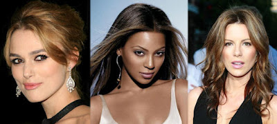 Keira, Beyonce and Kate