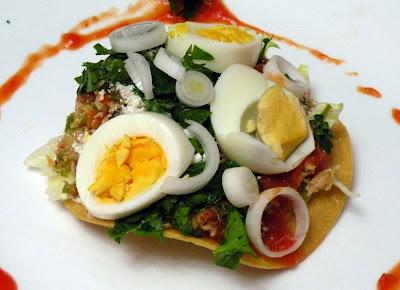 Enchilada de picado