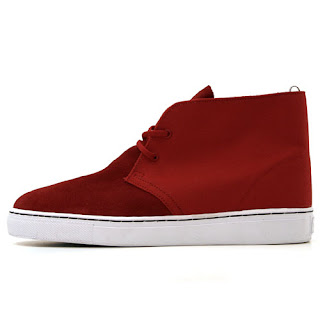 Alife Chuck Suede Red
