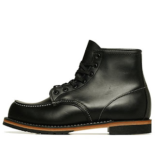 Red Wing Classic Dress Mocs Black