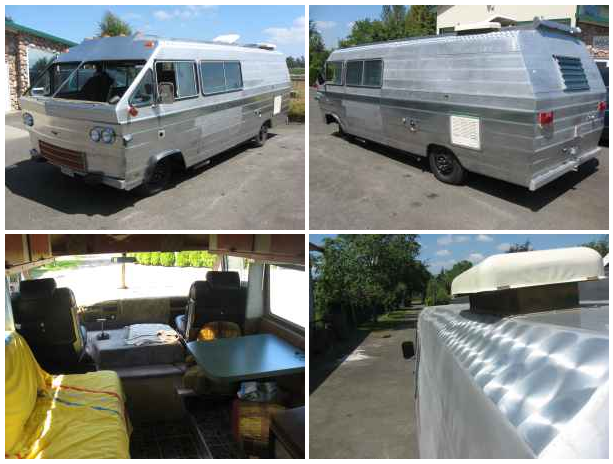 Class A Vintage Rv Project 5500 Fraser Valley