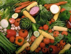 IRRADACION de verduras