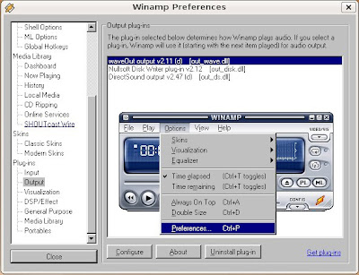 Linux issues: WinAmp in Linux
