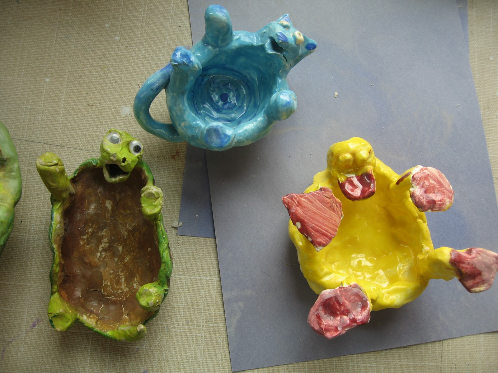 animal clay projects - photo #22