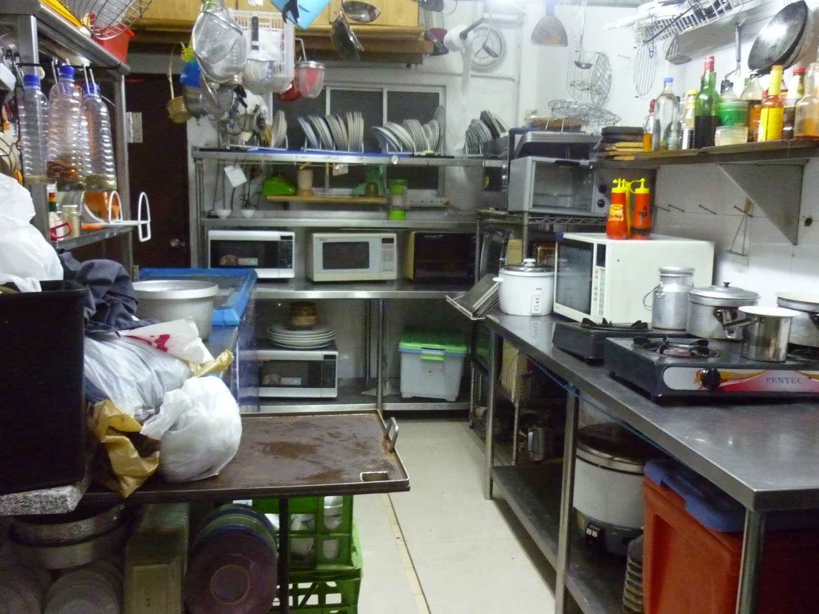 Restaurant: Kitchen Setup