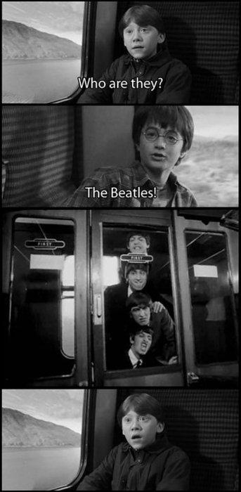 HP/Beatles Meme