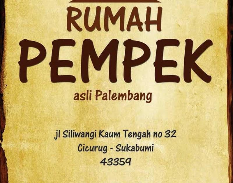 Branding Logo Rumah Pempek + Foto menu