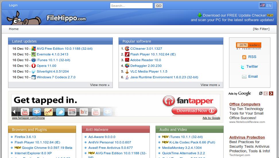 Filehippo penyedia Download Software Wajib Terinstall di