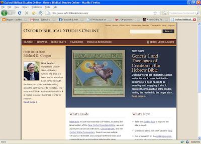 free online resources - oxford biblical studies online