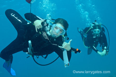 Larry Gates Scuba Instructor and Underwater Photographer