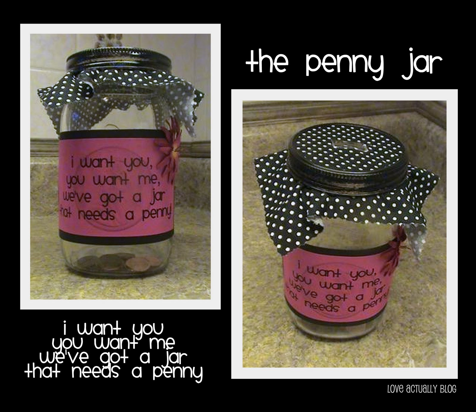 Love Actually The Penny Jar