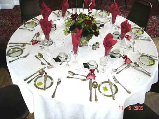 kinds of table setting arrangement – Loris Decoration