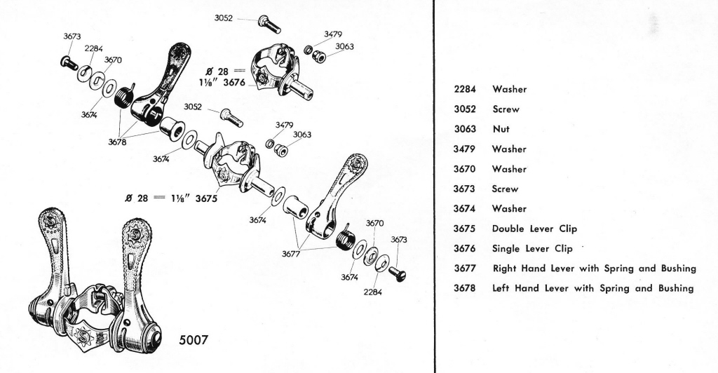 Sportif Bicycle  Simplex Retro Friction Shifters Part 1