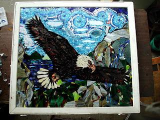 Green Man Mosaics July 2009