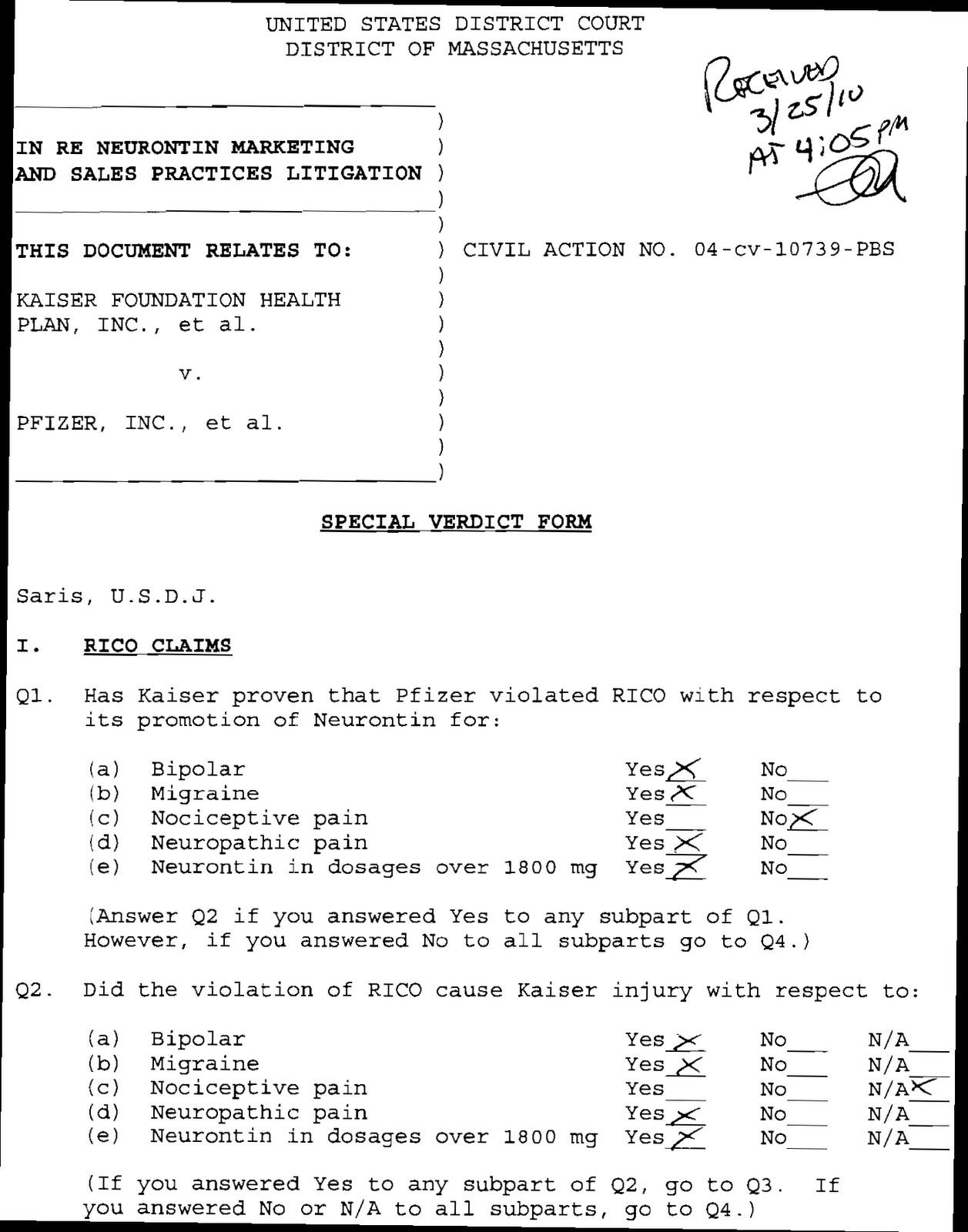 handgun safety certificate test answer sheet OTHERWISE: The Verdict: Kaiser v. Pfizer, Inc. - a Racketeer ...