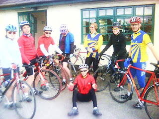 Juniors ride to AJs – thanks Claire for the report