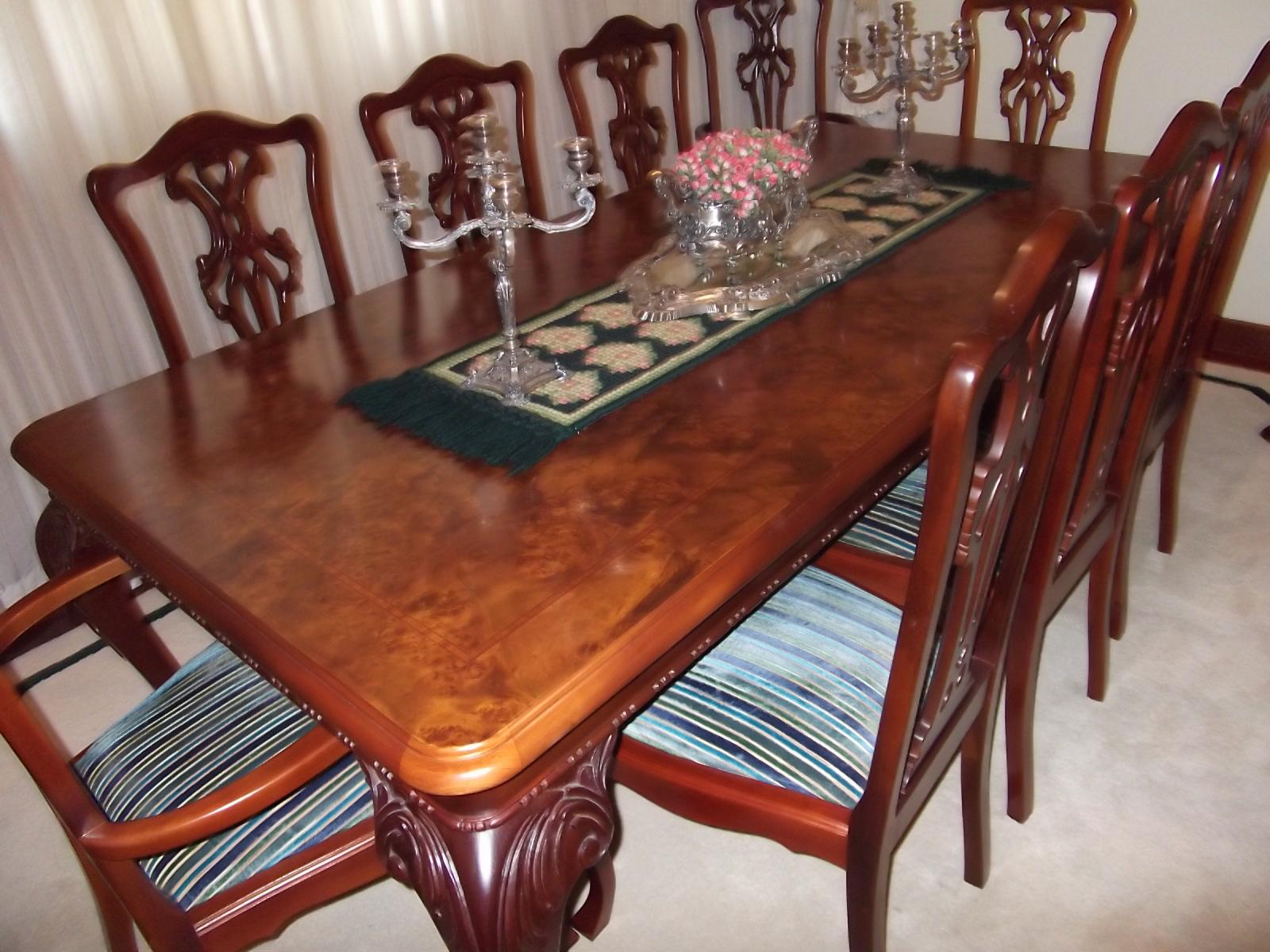 Cadeira e mesa mesas antigas for Mobilia anos 70