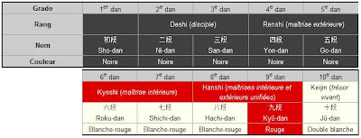 bons plans 2017 code promo nouvelle version Le Judo: Les différents grades