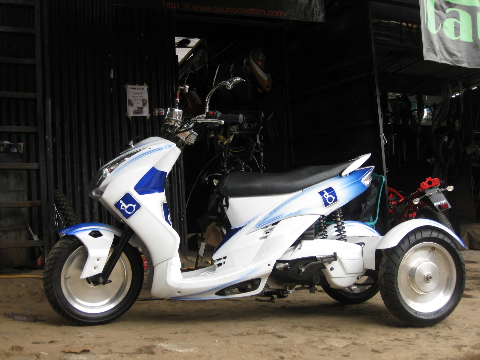 Motorcycle Modifications: Yamaha Mio And Mio Soul