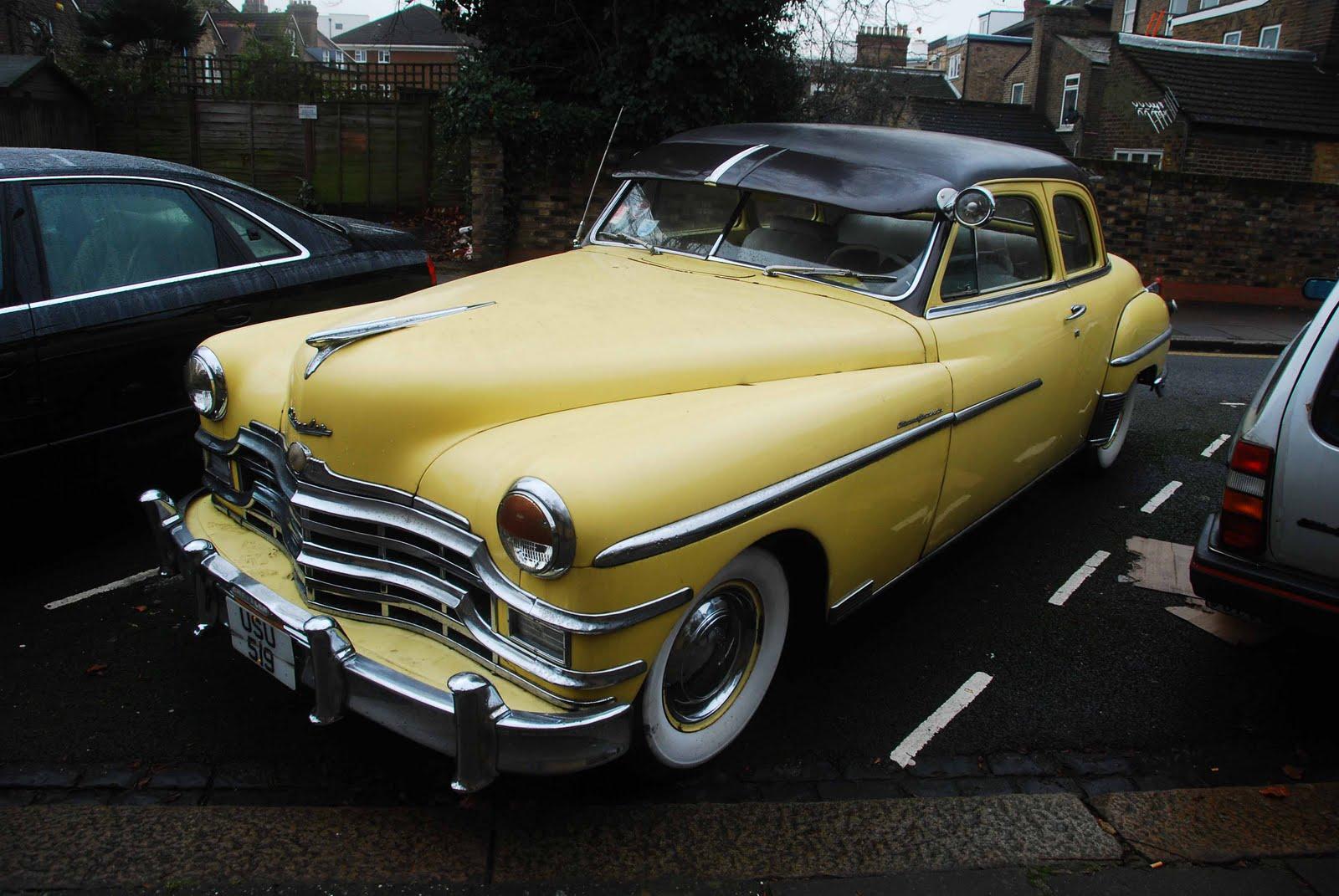 W-wa Jeziorki: Classic cars, West Ealing