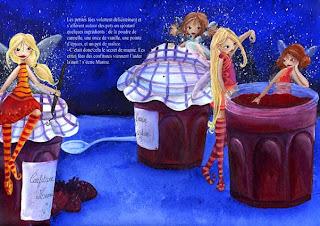 Le secret de mamie Claudine a trouvé son éditeur ! illustration jeunesse illustratrice fée mamie