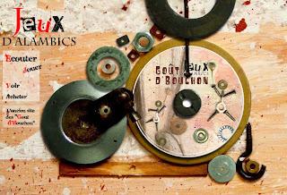 Le site web des Goût d'Bouchon et de leur CD 'Jeux d'alambic'