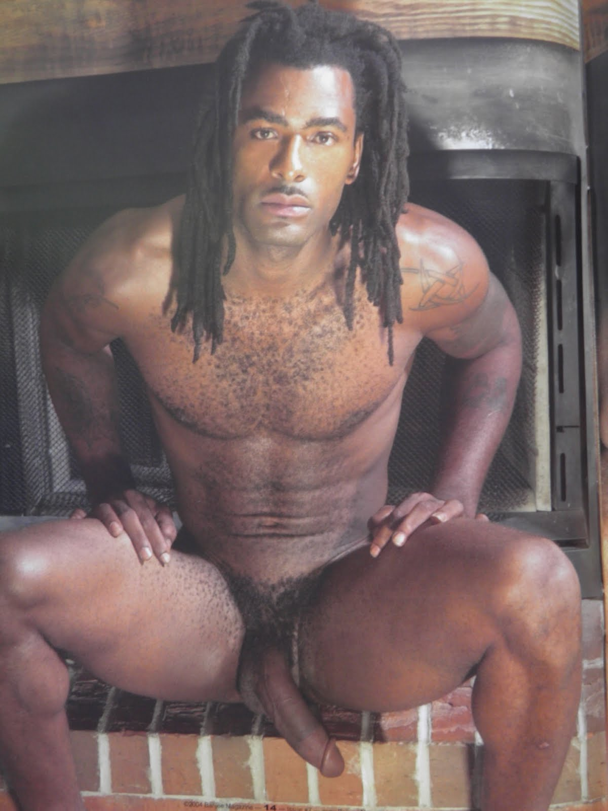 With dreads black men hot