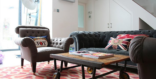 A Diary of Lovely: Rock n' Roll: Jo Berryman house tour