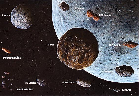 Asteroides Troyanos Podr 237 An Impulsar Cometas Hacia La