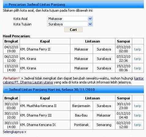 Cek Jadwal Kapal Pelni Dan Dharma Ferry Ridersystem