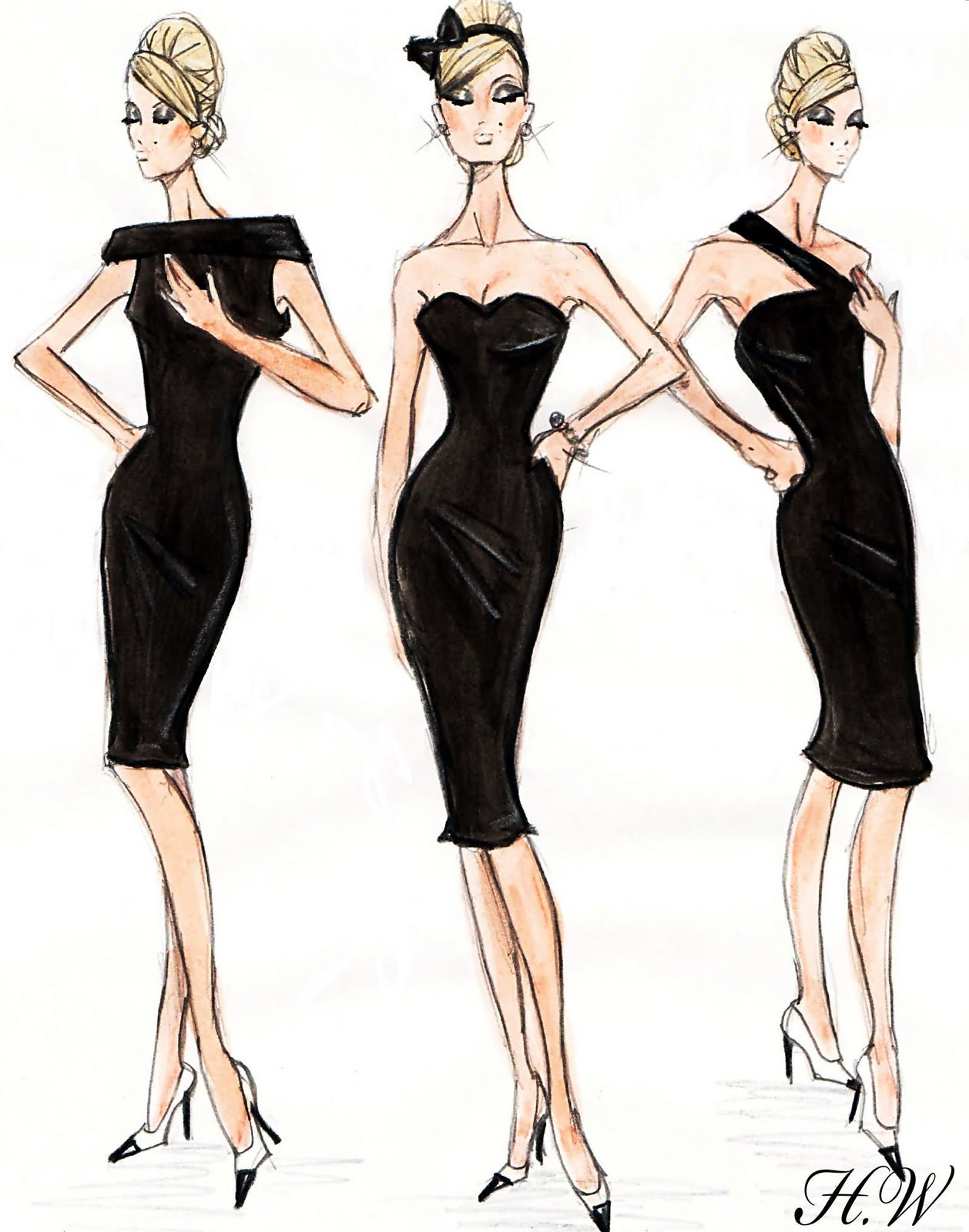 Hayden Williams Fashion Illustrations: Hayden Williams For ...