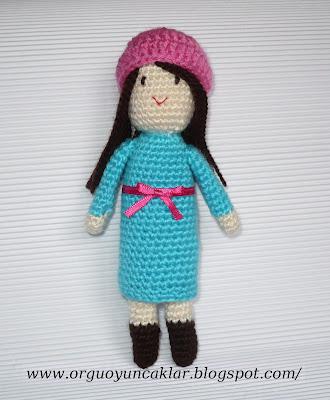 Amigurumi zeynep bebek 💗💗 | Amigurumi oyuncak bebek, Tığ işleri ... | 400x330