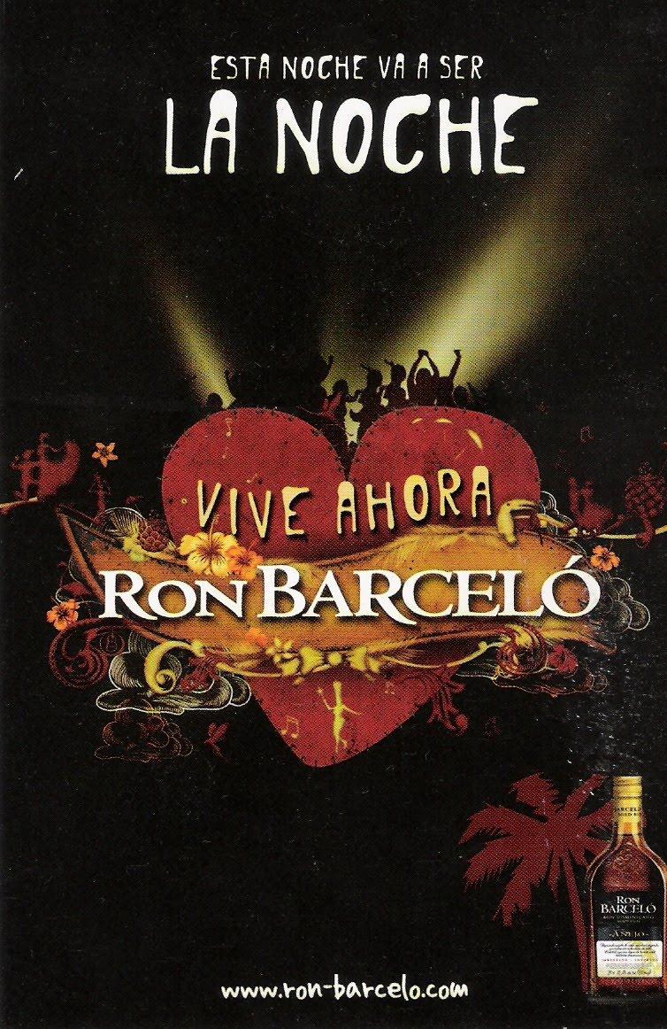 Promoción de Ron Barceló.