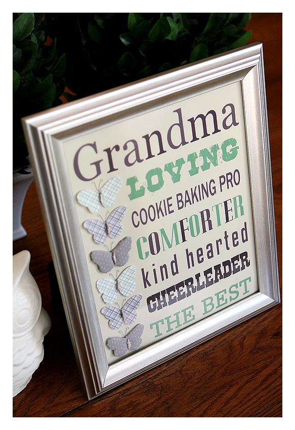 Good Ideas Homemade Birthday Present Grandma