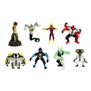 Ben 10 Alien Force Cool Toys Ben 10 Mini Figures Set Of 8 Vending