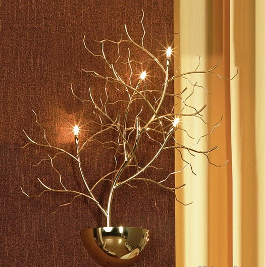 Wall Lamps Lights The And Decors On It