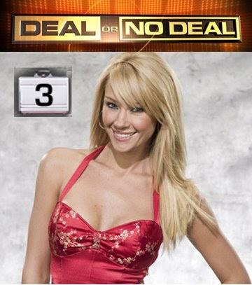 Deal or nodeal model upskirt