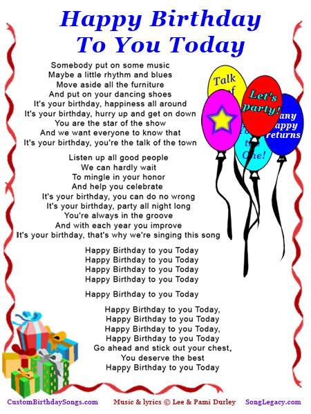 Happy Birthday To You Hindi Song Lyrics : happy, birthday, hindi, lyrics, Happy, Birthday, Sirisha, Mendijonas.blogspot.com