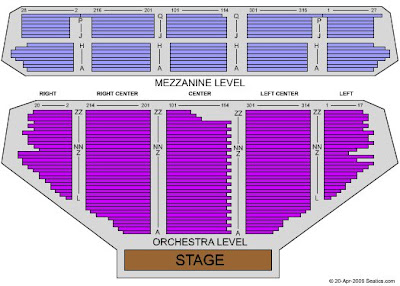 Pantages Theater Seating Chart Check The Seating Chart Here