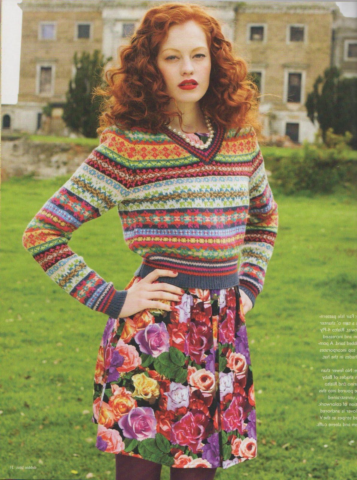 Hello Kelli Fair Isle Knitting Obsession