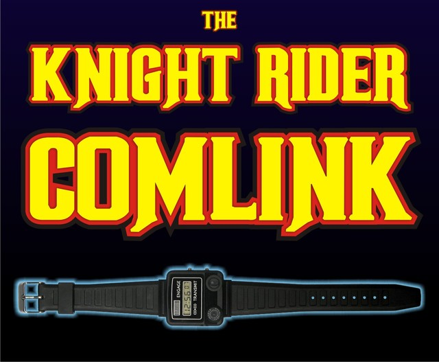 The Project Workbench Knight Rider Watch