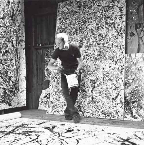 Action painting et expressionnisme abstrait   La technique ...
