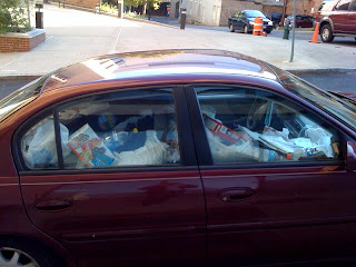 my bad pictures car full o trash